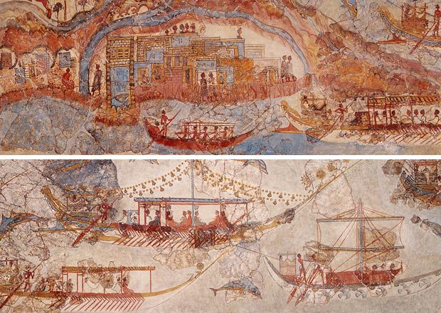 Akrotiri Thera Wall Paintings